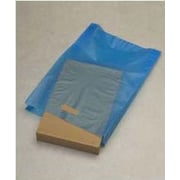 "High-Density Polyethylene 21""H x 14""W x 3""D Merchandise Bags, Blue, 500/Pack"