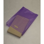 "High-Density Polyethylene 21""H x 14""W x 3""D Merchandise Bags, Grape, 500/Pack"