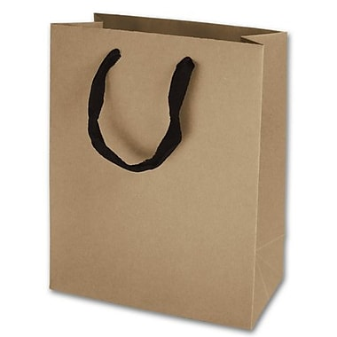 Sacs eco euro-shoppers Manhattan mats plastifiés, 10 x 8 x 4 po, Kraft, 100/paquet