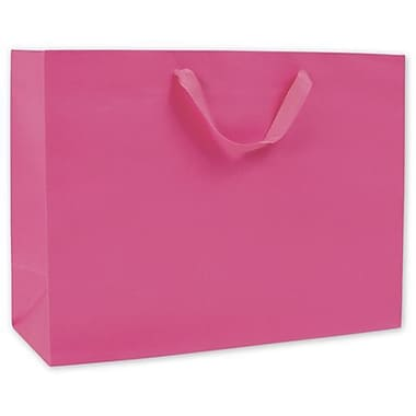 12in. x 16in. x 6in. Manhattan Eco Euro-Shoppers, Fuchsia
