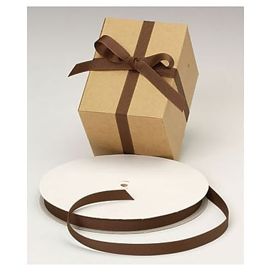 5/8in. x 100 yds. Grosgrain Ribbon, Chocolate