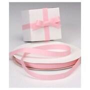 5/8 x 100 yds. Grosgrain Ribbon, Rose Pink