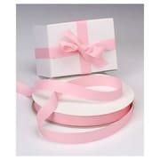 7/8 x 100 yds. Grosgrain Ribbon, Rose Pink
