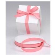 7/8 x 100 yds. Grosgrain Ribbon, Shell Pink