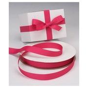 7/8 x 100 yds. Grosgrain Ribbon, Shocking Pink