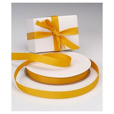 7/8in. x 100 yds. Grosgrain Ribbon, Gold