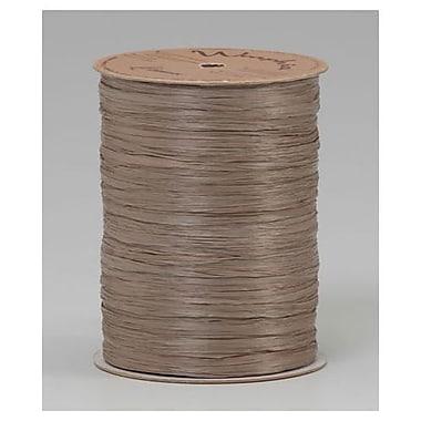 Wraphia Ribbon, Oatmeal, 300 ft/Roll