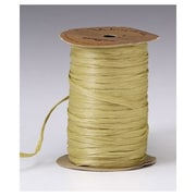 """1/4"""" x 100 yds. Matte Wraphia Ribbon, Sage"""