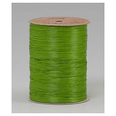 Wraphia Ribbon, Green, 300 ft/Roll