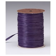 "1/4"" x 100 yds. Matte Wraphia Ribbon, Plum"