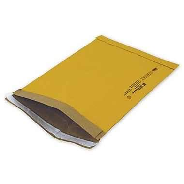10 1/2in. x 16in. Jiffy Self-Seal Padded Mailer, Yellow