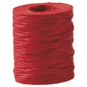 1 1/2 x 25 yds. Crinkle Paper Ribbon, Red