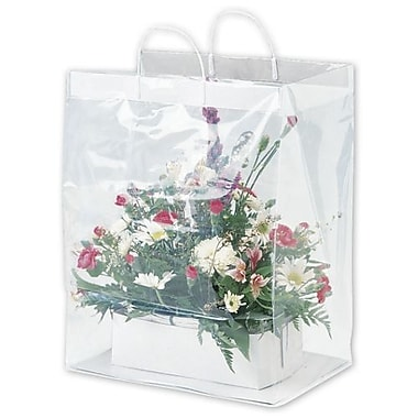13in. x 11in. x 19in. Floral Packaging Bags, Clear