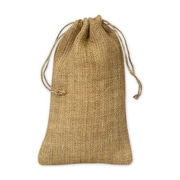 5 3/4 x 9 3/4 Burlap Cloth Bags, Brown