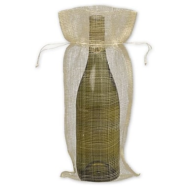 6in. x 13in. Natural Jute Bags, Brown