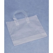 "Polyethylene 15""H x 16""W x 6""D Shopper Bags, Clear, 250/Pack"