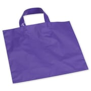 "Polyethylene 10""H x 12""W Economy Shopper Bags, Purple, 250/Pack"