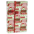24in. x 417' Lots of Joy Gift Wrap, Red/Green/White