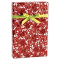 24in. x 417' Fantasia Gift Wrap, Red