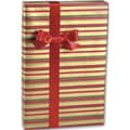 Holiday Classic Stripes Jeweler's Roll Gift Wrap