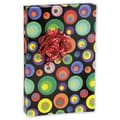 24in. x 100' Dizzy Circles Gift Wrap