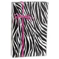 24in. x 417' Zebra Stripe Gift Wrap, Black/White