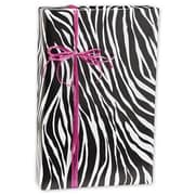 "24"" x 417' Zebra Stripe Gift Wrap, Black/White"