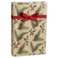 24in. x 417' Pine Kraft Gift Wrap