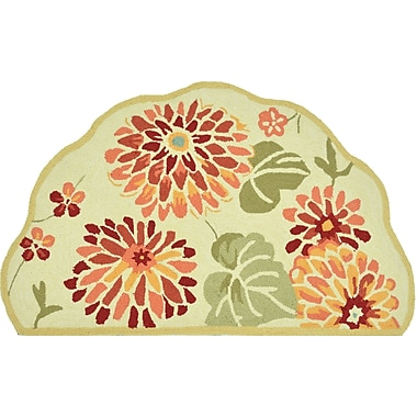 Loloi Summerton Life 100% Polyester 2' 3in. x 3' 9in. Area Rug, Maize