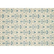"""Loloi Transitional Taylor 100% Wool 9' 3"""" x 13' Rug, Ivory/Light Blue"""