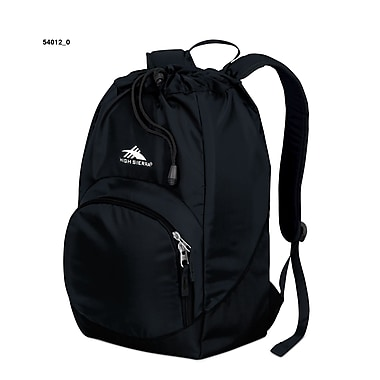 High Sierra Synch Backpack Black