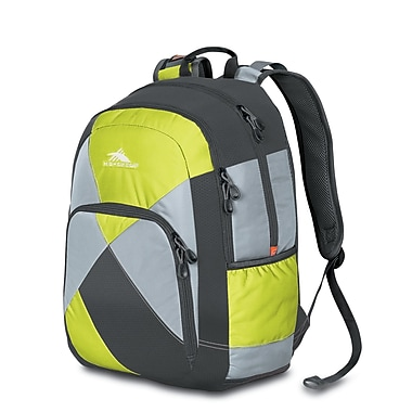 High Sierra Berserk Backpack Charcl Silver