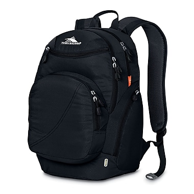 High Sierra Boondock Backpack Black