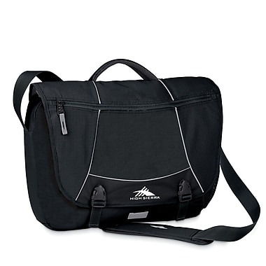 High Sierra Tank Messenger Black