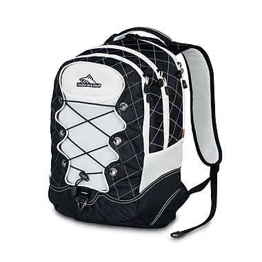 High Sierra Tightrope Backpack Black White