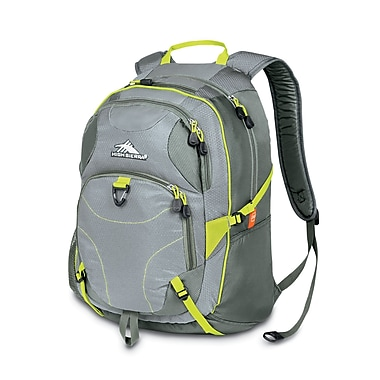 High Sierra Neuro Backpack Ash Chartreuse