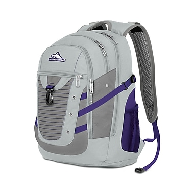 High Sierra Tactic Backpack Silver Purple