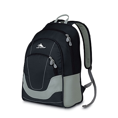 High Sierra Widget Backpack Black Ash