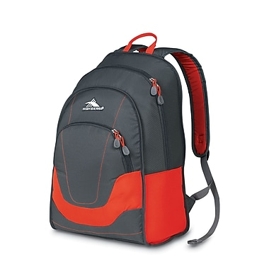 High Sierra Widget Backpack Red Line