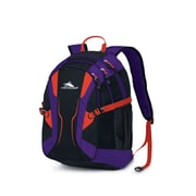 High Sierra Crawler Backpack Black Purple