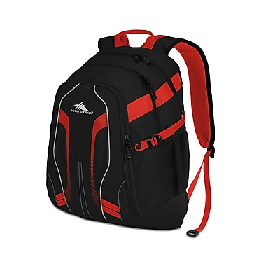 High Sierra Zooka Backpack Red Line