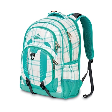 High Sierra Gorge Backpack Shoreline Plaid