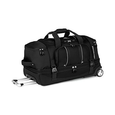 High Sierra EN303 28in. Drop-Bottom Wheeled Duffel Black