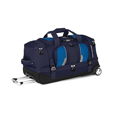 High Sierra EN303 28in. Drop-Bottom Wheeled Duffel True Navy