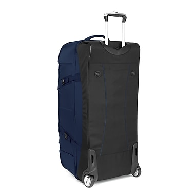High Sierra EN304 34in. Drop-Bottom Wheeled Duffel True Navy