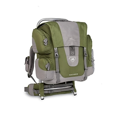 High Sierra Badger 40 External Framepack Amazon Green
