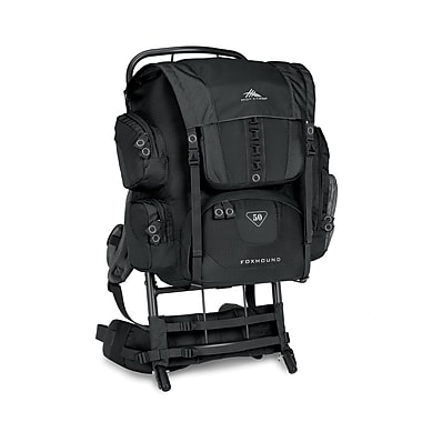 High Sierra Foxhound 50 External Framepack Black