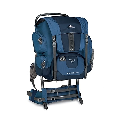 High Sierra Foxhound 50 External Framepack Pacific Blue