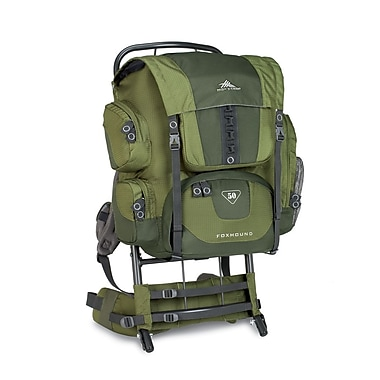 High Sierra Foxhound 50 External Framepack Amazon Green