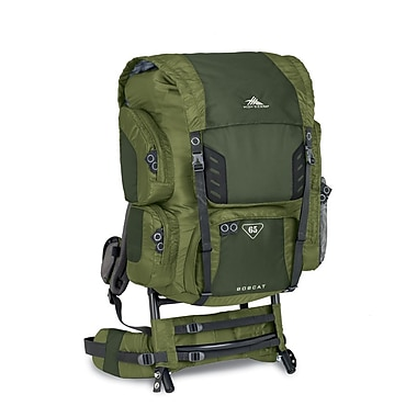 High Sierra Bobcat 65 External Framepack Amazon Green